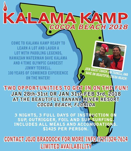 Dave Kalama Camp in Cocoa Beach