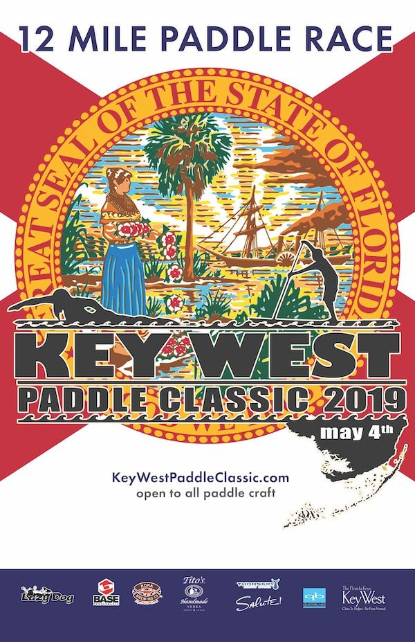 Key West Paddle Classic 2019 11x17 Poster