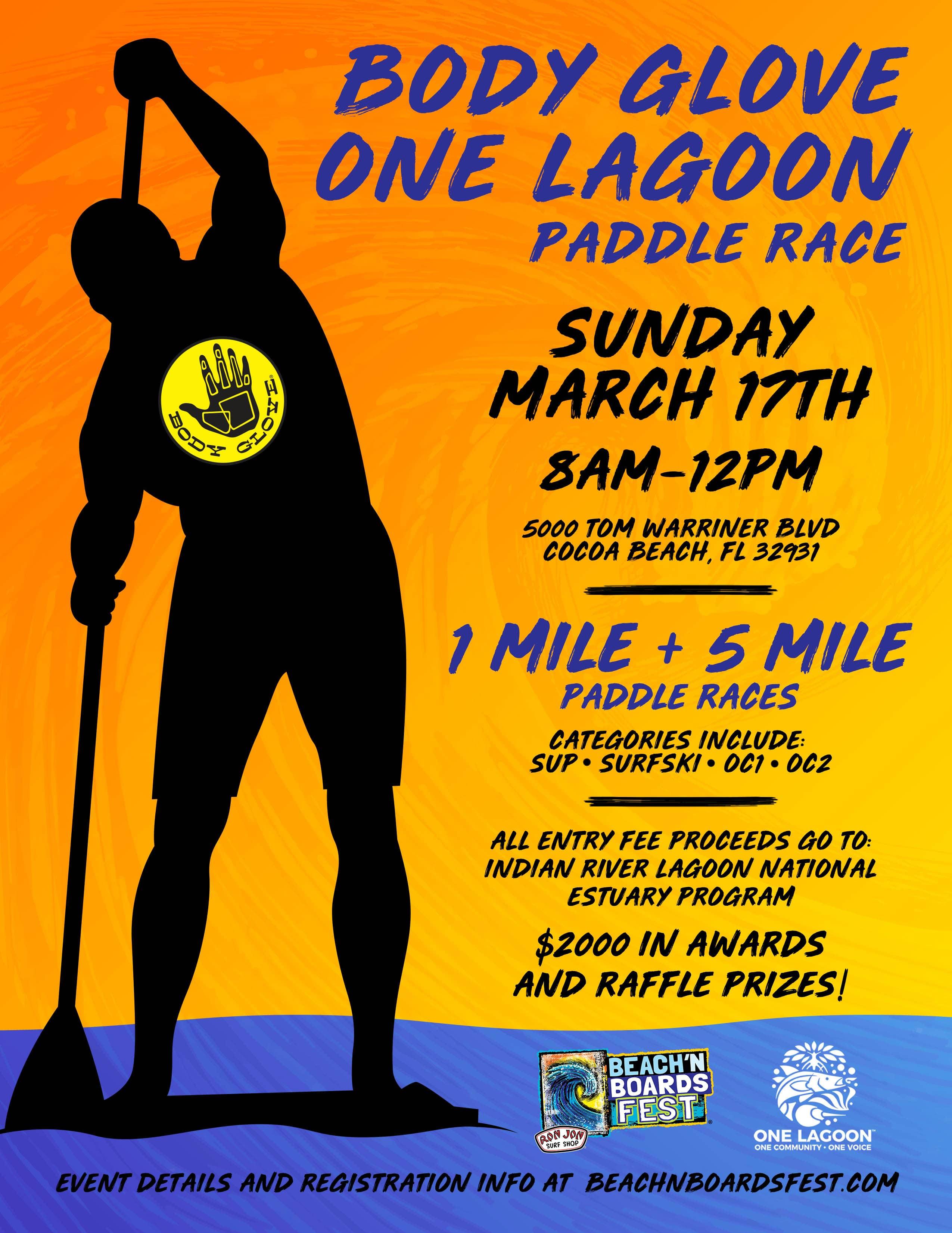 2019 Body Glove One Lagoon Paddle Race