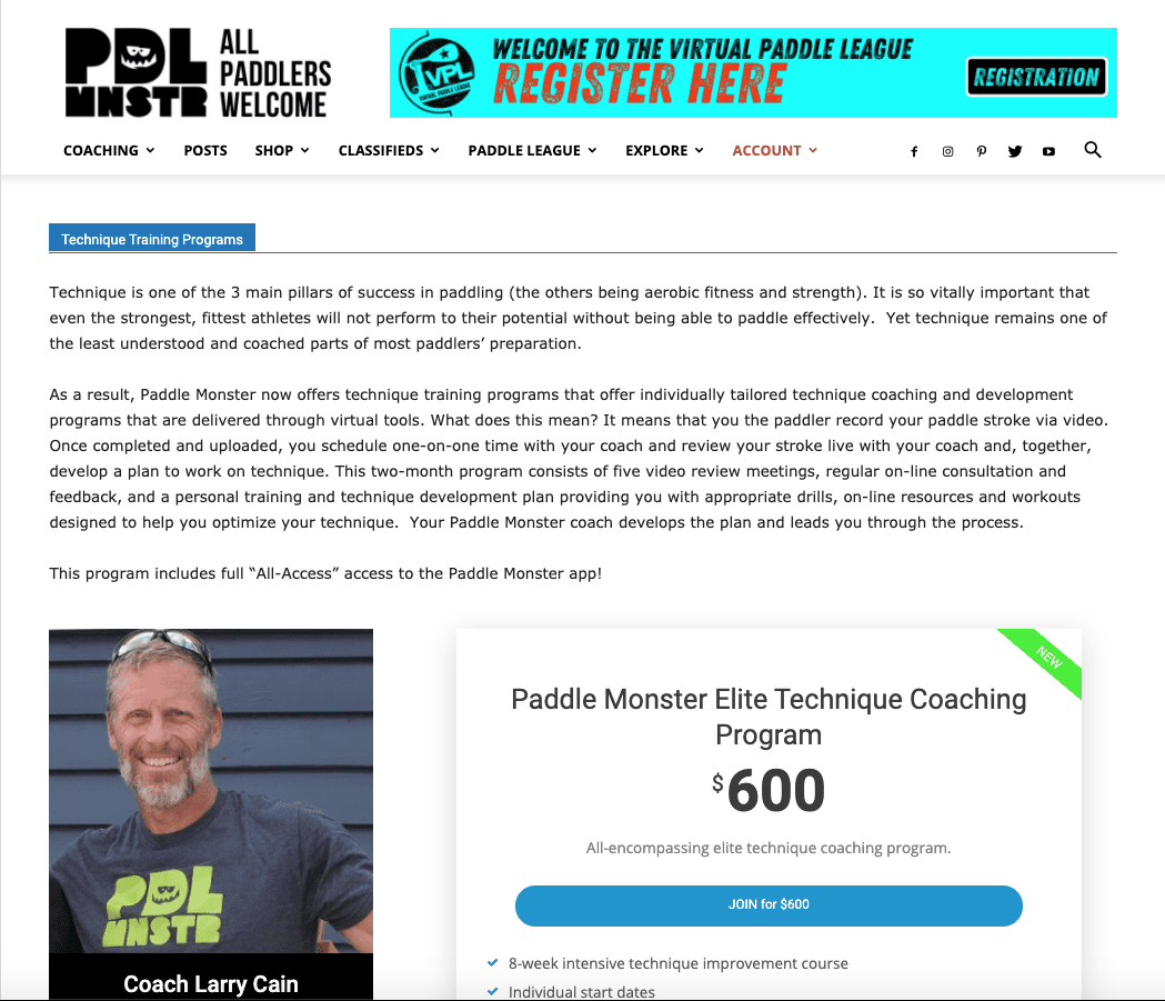 elite technique coaching